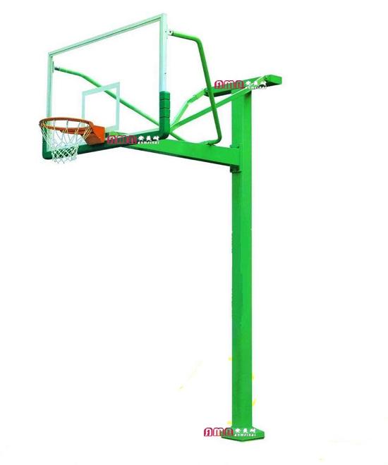 型号:ZZRS-12002 地埋式方管篮球架