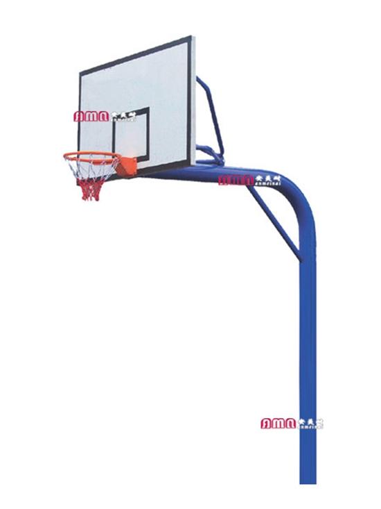 型号:ZZRS-12001 地埋圆管篮球架.