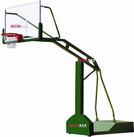 型号:ZZRS-12008 凹箱式篮球架B