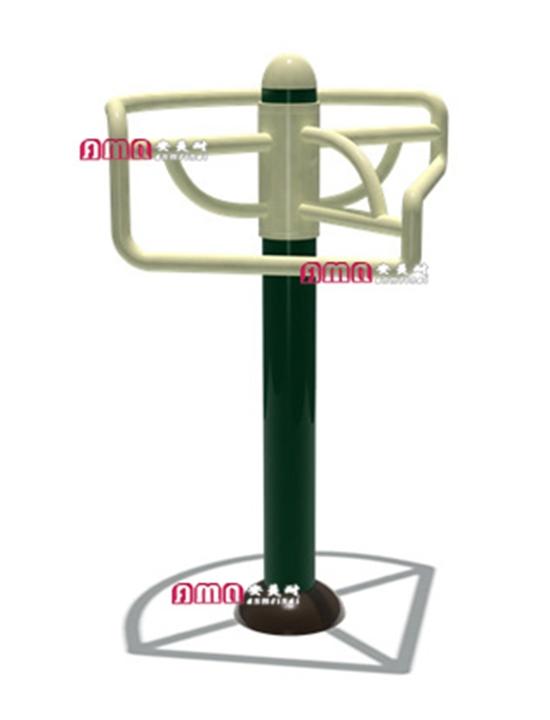 型号:ZZRS-0104 三人压腿器86 86 120cm