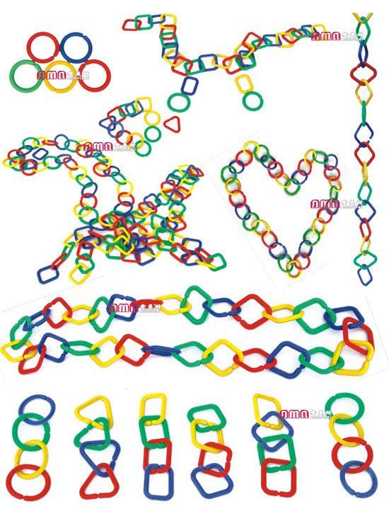 ZZRS-15204 串链玩具大号 500件 小号600件
