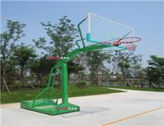 型号:ZZRS-12009 凹箱式篮球架C