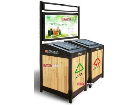 型号:ZZRS-5501 广告垃圾桶