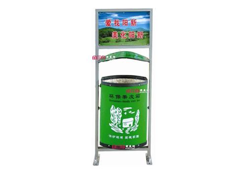 型号:ZZRS-5505 广告垃圾桶