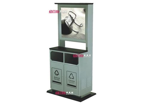 型号:ZZRS-5508 广告垃圾桶 900 400 2000mm